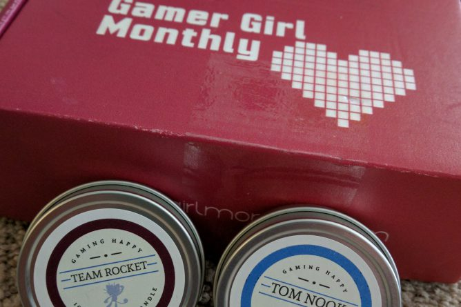 Gamer Girl Monthly Candles