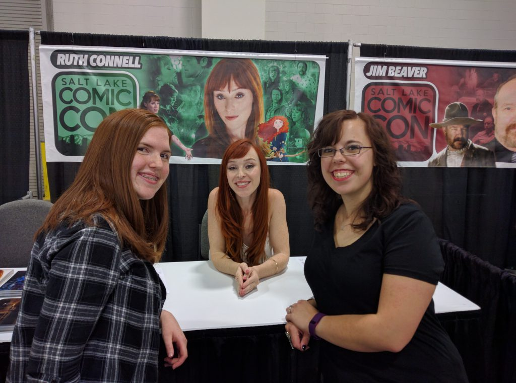 Salt Lake Comic Con Ruth Connell