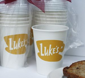 Gilmore Girls disposable cups