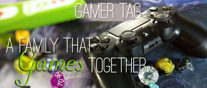 Gamer Tag: A Family That Games Together…